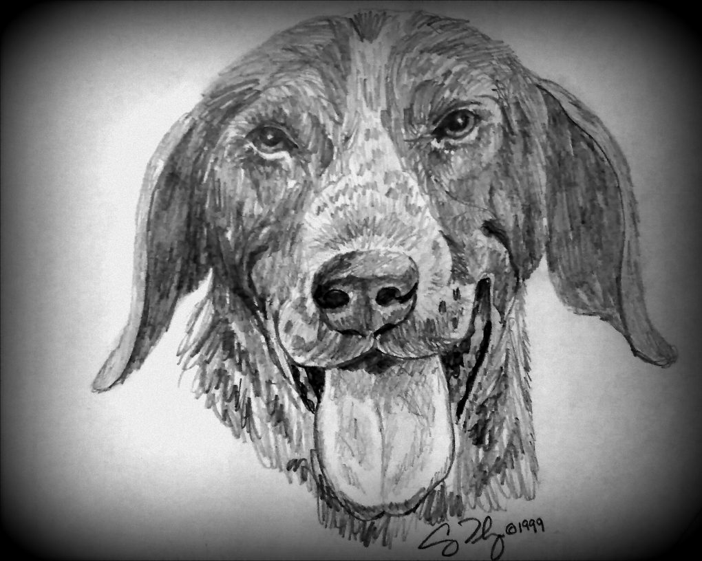 Lucky Drawing by Casey Thompson